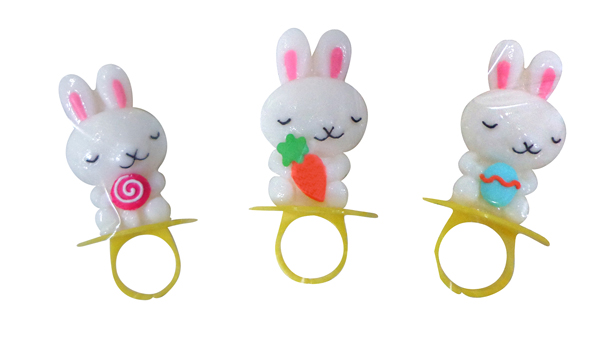 10g Easter rabbit candy ring pop