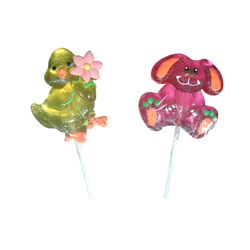35g easter candy  pop